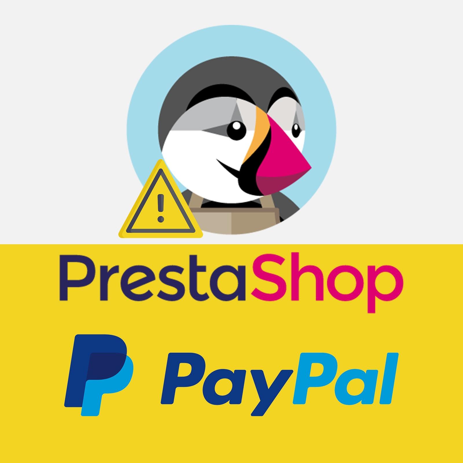 Prestashop Paypal module. Price rounding error in Paypal. Prestashop payment error by Paypal. Prestashop product amount rounding error.